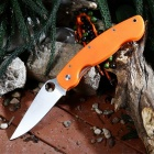 PA60 Outdoor Multi-function Folding Camping Knife - Orange