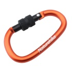 NatureHike 6cm Type-D Alloy Quick Release Buckle - Orange + Black