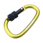 NatureHike 6cm Type-D Alloy Quick Release Buckle - Green + Black