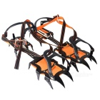 Professional Outdoor 12-tooth Shoes Chain Cleat Crampons (Pair)
