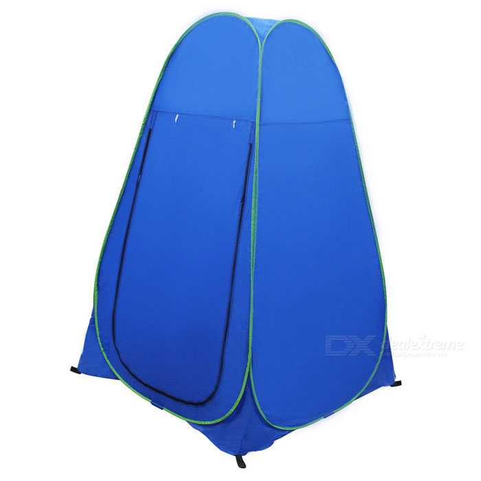 Outdoor Portable Polyester + Steel Instant Pop Up Tent - Blue