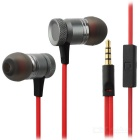 3.5mm Wired In-Ear Earphone Headset with Microphone for Mobile Phone / PCs (115cm Cable)