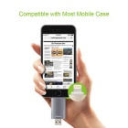 Omars mfi USB 3.0 OTG unidad flash de 64 GB para IPHONE / IPAD / IPOD - gris