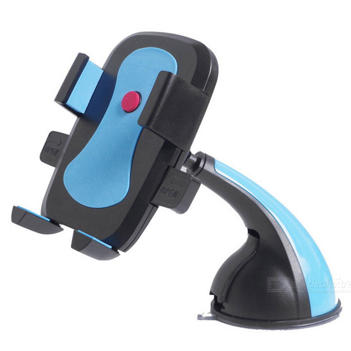 Kelima Vehicle-Mounted Mobile Phone Navigation Bracket - Black + Blue