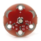 KEYES MD0308 Wearable 3528 RGB LED Module for Lilypad - Red