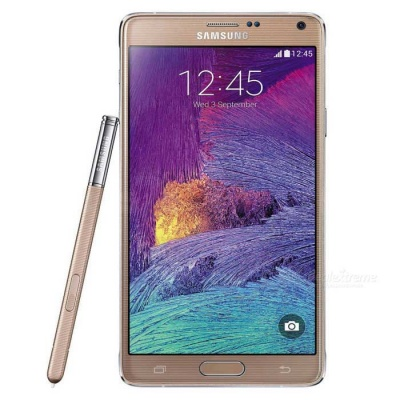 Samsung Galaxy Note 4 N910U Phone w/ 3GB RAM, 32GB ROM - Gold