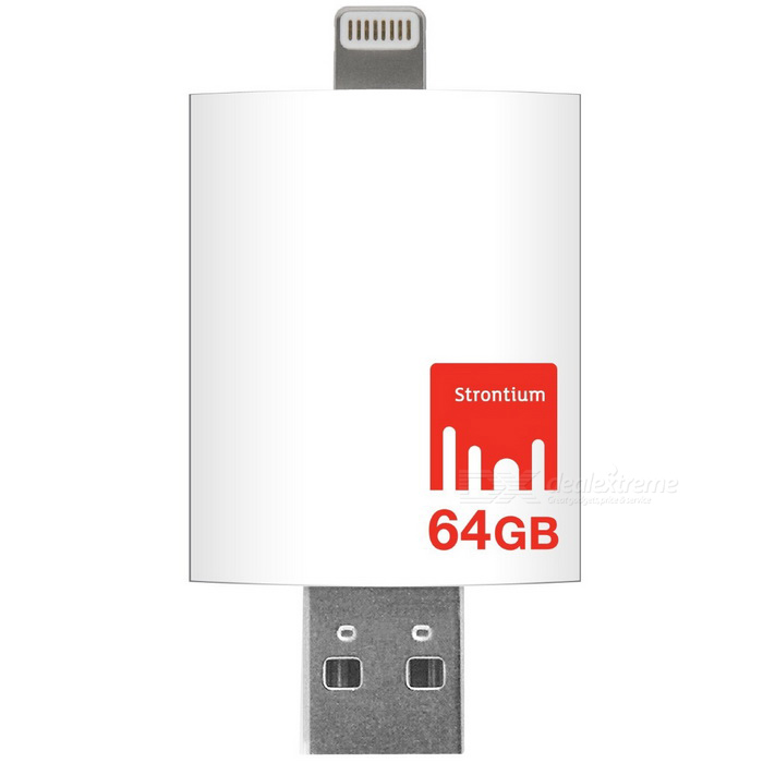 Strontium iDrive SR64GWHOTGAZ 64GB Flash Drive for IPHONE and iPAD