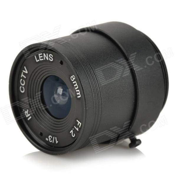 Replacement Fixed Iris Lens for CCTV Camera (8.0mm)