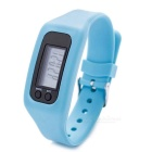 Unisex Sports Silicone Band LED Digital Wrist Watch - Blue (1 *AG10)