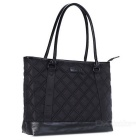 DTBG D8194W 15,6 polegadas nylon clássica diamante laptop tote bag