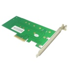 IOCREST SI-PEX40117 PCIe * 4 to NGFF SSD + SATA to NGFF Adapter Card