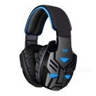 Gaming Headphone Stereo / Super Bass Game Headset w/ Mic, USB, 3.5mm for PC Gamer Internet Bar