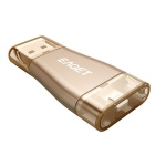 EAGET I50 128GB USB3.0 / Lightning OTG Flash Drive Disk for IOS - Gold