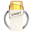 EAGET CU66 64GB USB 3.0 Type C Flash Drive Disk for Android - Silver
