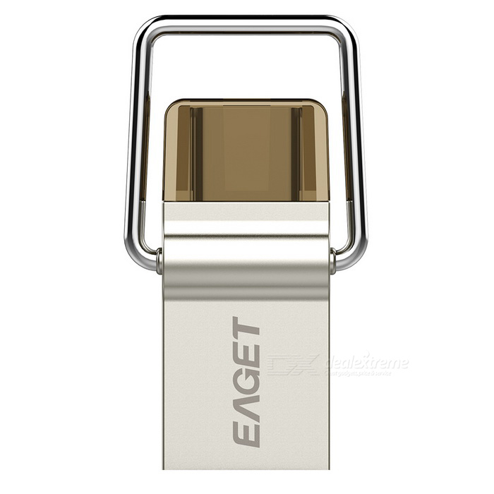 EAGET 10 VE 64GB USB 3.0 typ C flash-enhet disk för Android - silver