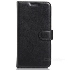 Protective PU Leather Wallet Case w/ Stand, Card Slots for Xiaomi 5S