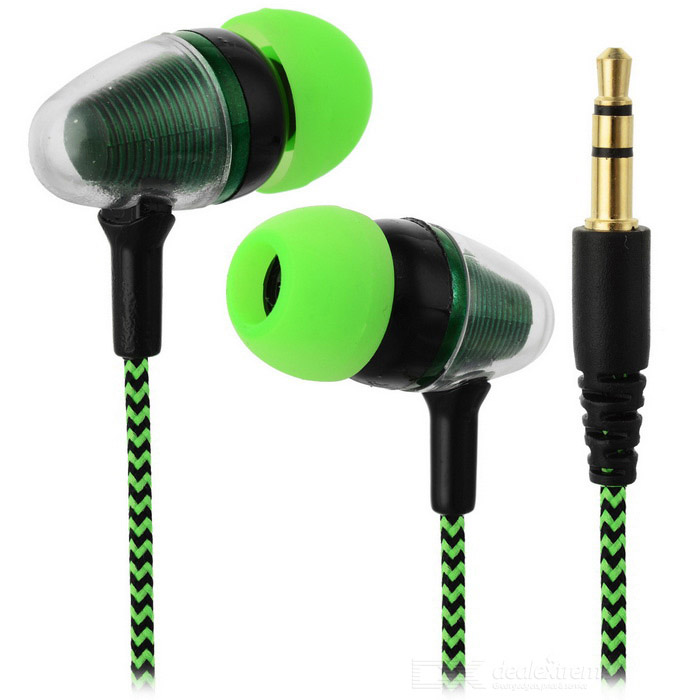 JEDX Bullet Head Style 3.5mm Plug Wired In-Ear Earphone - GreenHeadphones<br>Form  ColorGreen + BlackBrandOthers,JEDXMaterialABSQuantity1 DX.PCM.Model.AttributeModel.UnitShade Of ColorGreenConnection3.5mm WiredBluetooth VersionNoCable Length110 DX.PCM.Model.AttributeModel.UnitLeft &amp; Right Calbes TypeEqual LengthHeadphone StyleBilateral,In-EarWaterproof LevelIPX0 (Not Protected)Applicable ProductsUniversalHeadphone FeaturesLightweight,PortableSupports MusicYesRadio TunerNoSupport Memory CardNoSupport Apt-XNoPacking List1 * Earphone<br>