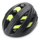 Outdoor Sports Cycling Bike Bicycle Helmet - Black + Green (M Size)