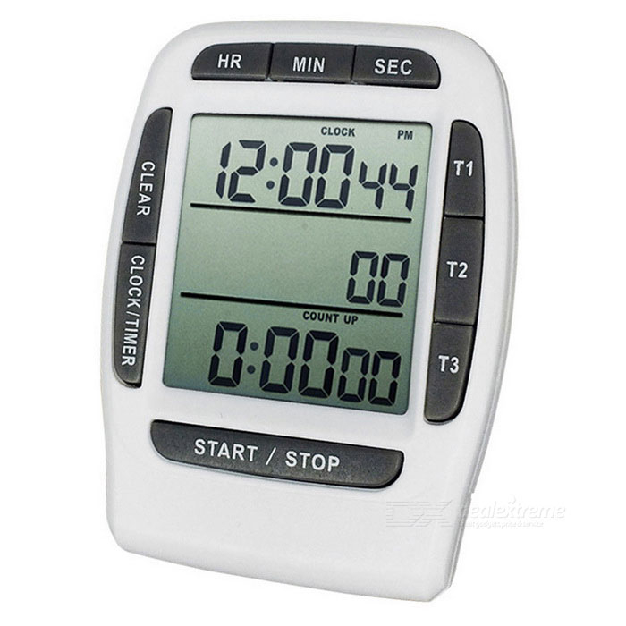 Desktop Three-channel Electronic Kitchen Reminder Timer