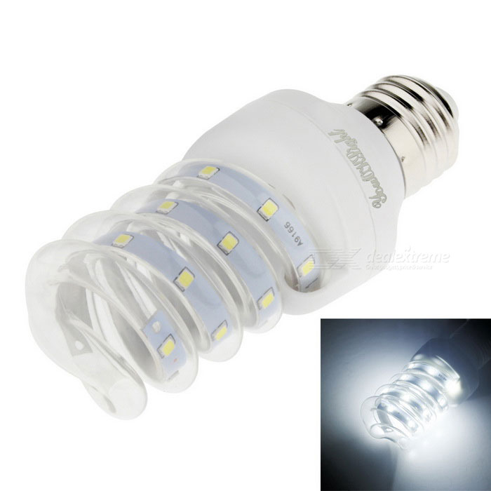 Youoklight E27 5W 12-LED 2835 SMD bulbo blanco frío del maíz del LED (ac 220V)