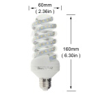 YouOKLight E27 20W 47-LED 2835 SMD Cold White LED Corn Bulb (AC 220V)