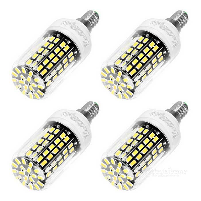 youoklight e14 10w led corn bulbs cold white light 108 smd 5733 4pcs free shipping dealextreme. Black Bedroom Furniture Sets. Home Design Ideas