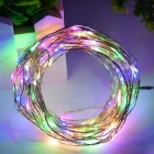 WLXY 3W 50-LED DC 12V Decorative RGB Colorful String Lights (3 * 5m)