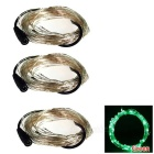 WLXY 3W 50-LED DC 12V Decorative Green Light String Lights (3 * 5m)