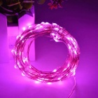 WLXY 3W 50-LED DC 12V luces decorativas decorativas rosadas de la secuencia-(3 * 5m)