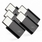 Xiaomi USB Type-C Male to Micro USB Female Adapters - Black (5 PCS)