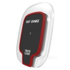 Mindzo F07 Fast Charging Wireless Charger w/ Touch Light - Red + Black