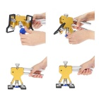 Auto Car Body Dent Remover Repair Puller Kit Tools - Yellow + Silver