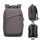 DTBG D8063W 15.6 Inch Laptop Backpack w/ USB 2.0 Port - Brown