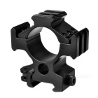 30mm Aluminum Alloy Quick Releasing Mount for 22mm Rail Guns - Black