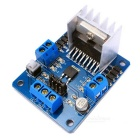 DIY L298N Dual H Bridge DC Stepper Motor Driver Board Module - Black