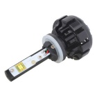 MZ 880 6000K DC9-30V 60W LED Cold White Light Car Headlight - Black