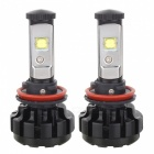 IP67 Waterproof Aluminum Alloy 7200lm Auto Car LED Headlight Bulbs