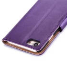 Protective PU Leather + PC Case for IPHONE 7 - Purple