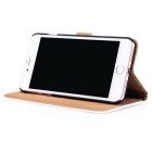 Protective PU Leather + PC Case for IPHONE 7 - White