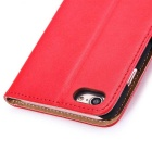 Protective PU Leather + PC Case for IPHONE 7 - Red