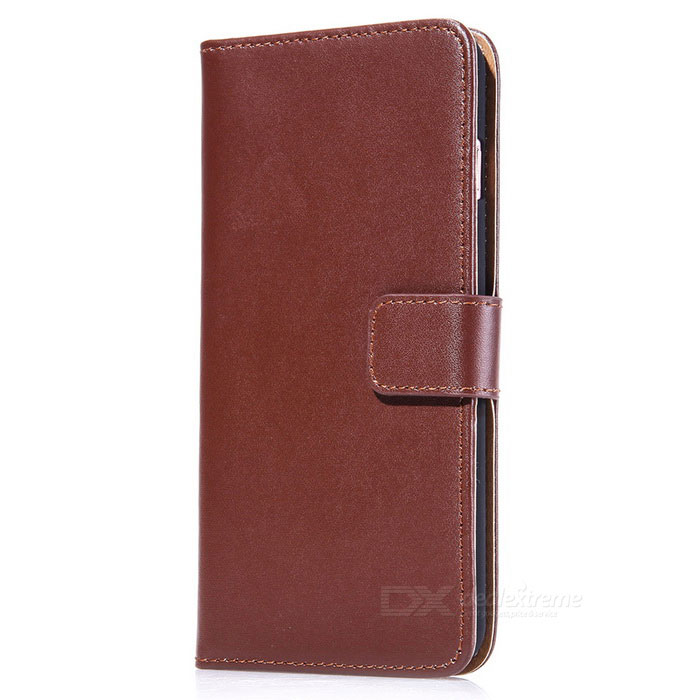 Protective PU Leather + PC Case for IPHONE 7 - BrownLeather Cases<br>Form  ColorBrownQuantity1 DX.PCM.Model.AttributeModel.UnitMaterialPU + PCCompatible ModelsiPhone 7StyleFlip OpenDesignSolid Color,With Stand,Card SlotAuto Wake-up / SleepNoPacking List1 * Case<br>