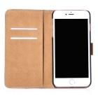 Protective PU Leather + PC Case for IPHONE 7 - Brown