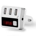 KELIMA BC12 3-USB Port Bluetooth Hands-free Car MP3 FM Transmitter
