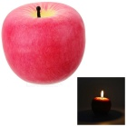 Apple Shaped Candles Light Gift for Christmas Decoration -Red (Medium)