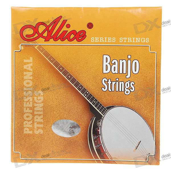 Alice Acoustic Banjo Strings (1-st/2-nd/3-rd/4-th) 3 sets alice aw466 light acoustic guitar strings plated high carbon steel