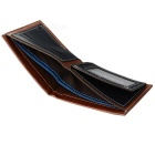 GUBINTU KL017 Men's Leather Wallet w/ Card Slots - Coffee