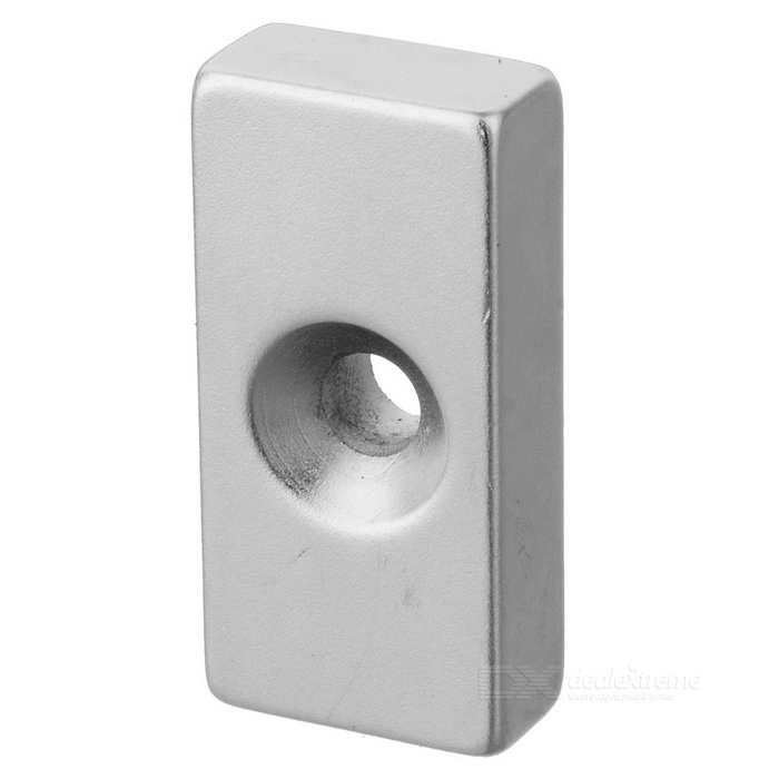 40mm * 20mm * 10mm Rectangle Shaped Magnetic NdFeB Magnet - Silver