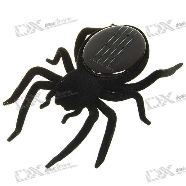 Novel Solar Powered Spider