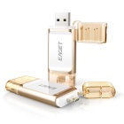 EAGET I60 128GB USB3.0 / flash drive OTG flash - ouro + branco