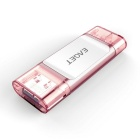 EAGET I60 64 GB USB 3.0 / flash drive flash OTG - ouro rosa + branco
